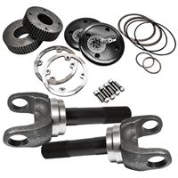 "Nitro Ford 9.49""4340 35 Spline Drive Slug Kit with Outer stub Axles, D50 & 60 Front (Pair)"