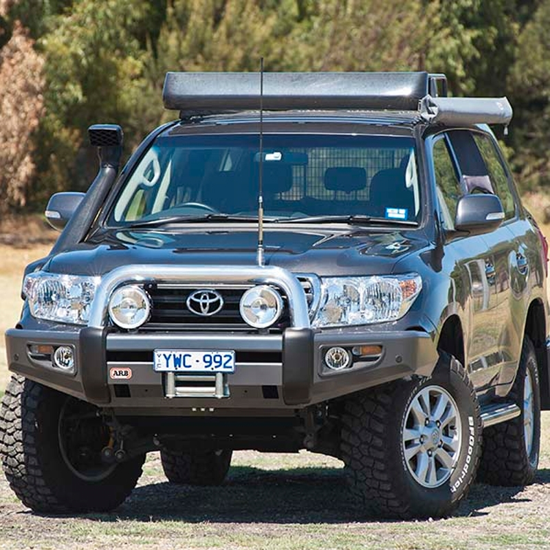 Toyota Land Cruiser 200 Series & LX570, ARB Sahara Bar/Bumper (2012+, Req   5100030, Uses Opt Fogs 6821201)