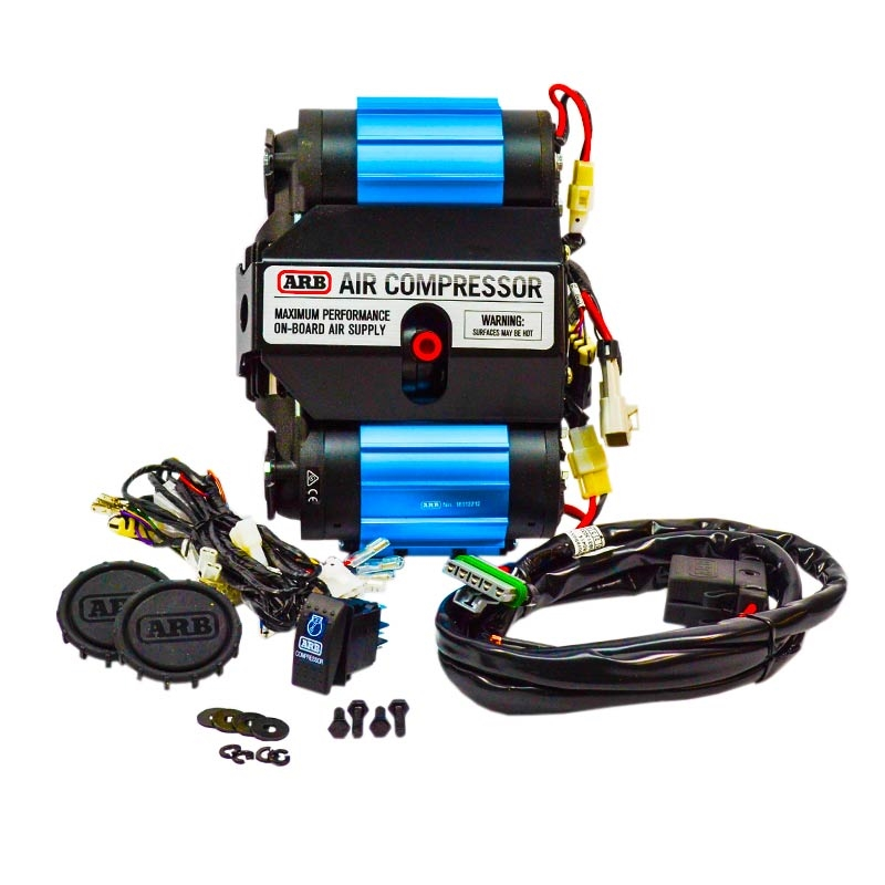Arb Onboard Twin Air Compressor: Arb Air Pressor Wiring Harness At Gundyle.co