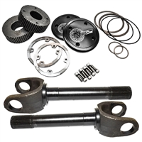 "Nitro GM 12""4340 35 Spline Drive Slug Kit with Outer stub Axles, D60 & D70 Front (Pair)"