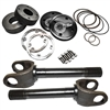 "Nitro Ford 11-3/8""4340 35 Spline Drive Slug Kit with Outer stub Axles, D60 Front (Pair)"