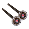 Toyota F F Chromoly 30 Spline Axle Shafts Land Cruiser 60 Rear, Full Float Only Cable   Eloc Ok (Pair) (Non-Us Models) Kit