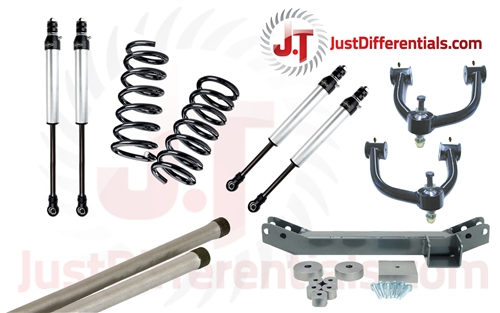 1998-2007 Toyota Land Cruiser 100 Series, Deluxe Suspension Kit with UCA's  & 2 0