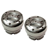 Mile Marker Supreme Stainless Locking Hub Set