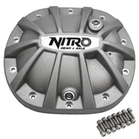 Nitro Gear & Axle Finned Aluminum Differential Cover