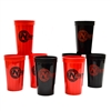 Nitro 22 Oz Fluted Plastic Cups