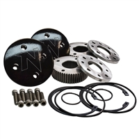 Nitro 4340 35 Spline Drive Slug Kit, D60 & D70 Front (Pair)